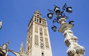 View of the Giralda in Seville.